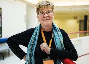 2013. Lena Mellin under Folkpartiets landsmöte i november.